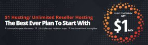 $1 Hosting, $1 Web Hosting, Unlimited Reseller Hosting