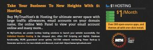 Unlimited Reseller Hosting, $1 Hosting