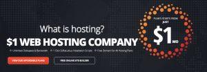 $1 Hosting, unlimited reseller hosting